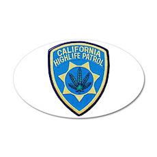California Highlife Patrol Wall Decal