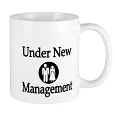 Under New Management Coffee Mug