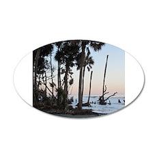 Tropical Beach - Hunting Island, SC Wall Decal