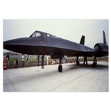 Lockheed SR-71 Blackbird on a runway