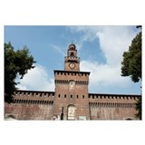 Low angle view of a building, Castello Sforzesco,