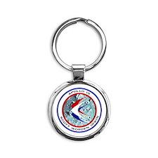 Apollo 15 Round Keychain