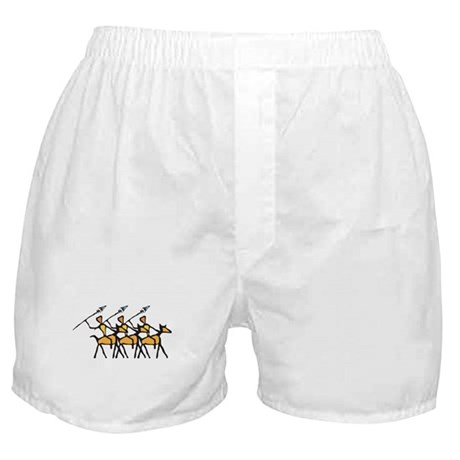 3 Warriors Boxer Shorts
