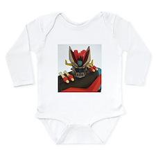 Mazinga Long Sleeve Infant Bodysuit