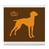 Cute Pointer Tile Coaster