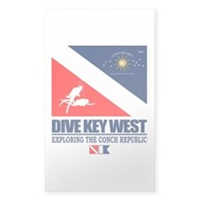 Dive Key West Decal