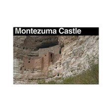 Montezuma Castle NM Rectangle Magnet
