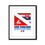 Dive Thailand Framed Panel Print