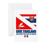 Dive Thailand Greeting Cards (Pk of 10)
