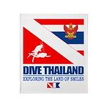Dive Thailand Throw Blanket