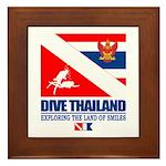 Dive Thailand Framed Tile