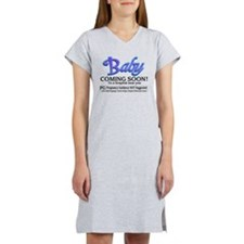Baby - Coming Soon! Women's Nightshirt