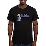 I Take My Kids Everywhere Men's Fitted T-Shirt (da