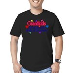 Grandkids - All the fu Men's Fitted T-Shirt (dark)