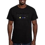 The Ass Family Men's Fitted T-Shirt (dark)