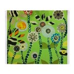 Picnic Garden of Funk Throw Blanket