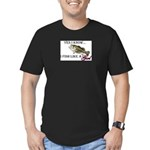fish.png Men's Fitted T-Shirt (dark)