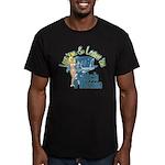 Love 'em & Leave 'em Men's Fitted T-Shirt (dark)