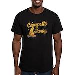 Campsite Junkie Men's Fitted T-Shirt (dark)