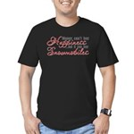 Snowmobiling Men's Fitted T-Shirt (dark)