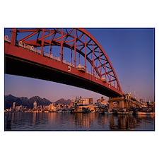 Bridge across a river, Sokcho, Gangwon-Do Province