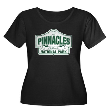 Pinnacles National Park Women's Plus Size Scoop Ne