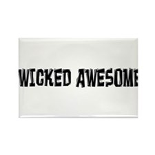 Wicked Awesome Rectangle Magnet