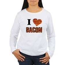I love Bacon! Long Sleeve T-Shirt