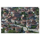 Houses in a city, Ohrid, Macedonia