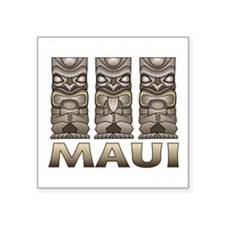 Maui TIKI Sticker