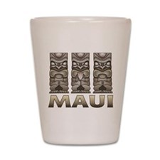 Maui TIKI Shot Glass