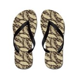 Feathers Flip Flops