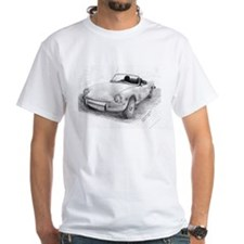 Triumph Spitfire Pencil Sketch T-Shirt