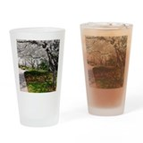 D.C. Cherry Blossoms Drinking Glass