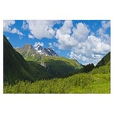 Mountain range, Kenai Mountains, Kenai Peninsula,