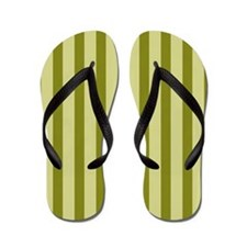 Olive Splendor Flip Flops
