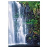 Hawaii, Maui, One Of Many Cascading Waterfalls Fou