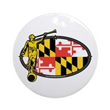 Maryland Mission - Maryland Flag - Angel Moroni -