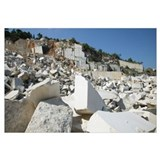 Quarry of BRAC's famous white stone, Brac Island,