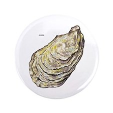 """Oyster Sea Life 3.5"""" Button (100 pack)"""