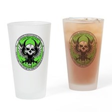 Zombie Response Unit Drinking Glass