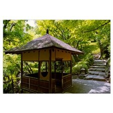 Rest house in garden, Happo-En Gardens, Tokyo Pref