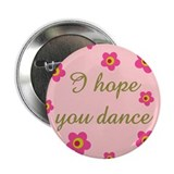 "Cute I love ballet 2.25"" Button"