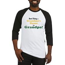 Best Thing Grandpa Baseball Jersey
