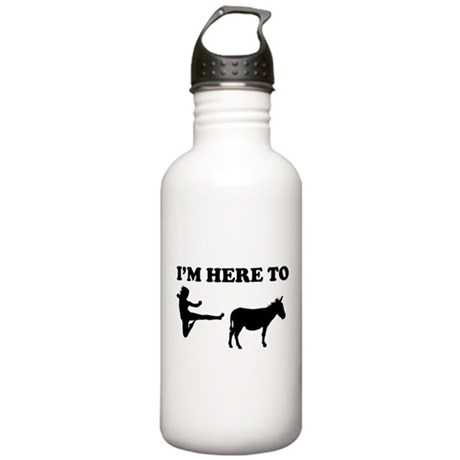 I'm Here To Stainless Water Bottle 1.0L