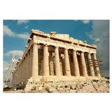 Ruins of columns, Acropolis, Parthenon, Athens, At