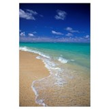 Hawaii, Oahu, Lanikai Beach Shoreline With Beautif