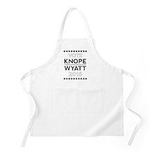 Knope/Wyatt 2016 Campaign Apron