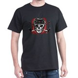 Give Blood Hockey Black T-Shirt