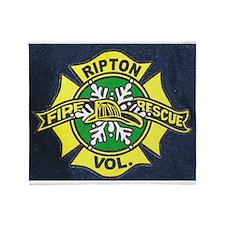 Ripton logo Throw Blanket